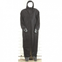 BIOLOGICAL PROTECTION CIVIL RESPONDER  BLACK COVERALL