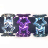 STAR METALLIC COLORS BRACELETS, 1 DZ LEFT
