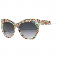 CAT SHAPE LADIES FRAMES WITH COLORFUL PRINT