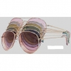 AVIATOR SUNGLASSES IN ASSORTED SOFT COLORS