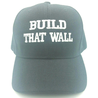 BUILD THAT WALL EMBROIDERED HAT