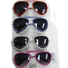 AVIATOR STYLE SUNGLASSES IN BRIGHT COLORS AND TOP BAR