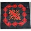 FLAMES BANDANA, RED IN COLOR
