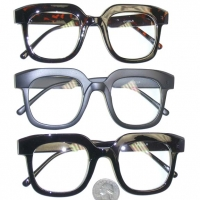 CLEAR LENS NERD THICK TOP GLASSES