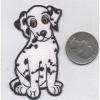DALMATION PATCH, IRON ON