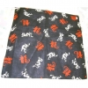 BANDANA, BLACK WITH DRAGON AND CHINESE LETTER, LIMITED STOCK
