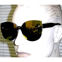 REVO MIRROR LENS COOL SHAPE SUNGLASSES