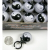 YIN YANG FLOATING MOVING BALL RING