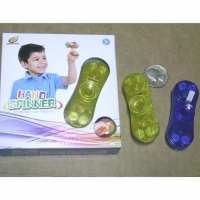 LIGHT UP SPINNERS, 2 SPRANG, COMES BOXED