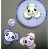 PANDA FACE METAL SPINNERS