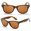 BLUES BROTHERS DEMI TORTOISE COLOR FRAMES WITH BROWNISH LENS