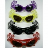 DAME EDNA STYLE SUNGLASSES, ASSORTED COLOR FRAMES