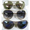 AVIATOR  GOLD FRAMES SUNGLASSES WITH SMALL CIRCLE DESIGN REVO LN
