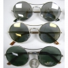 FLAT FRAMES DARK LENS ALL METAL FRAMES, COOL AND DIFFERENT