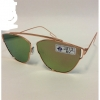 FLAT METAL FRAMES, REVO LENS TOP BRIDGE ONLY SUNGLASSES