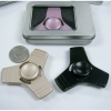 METAL SPINNER COMES IN RECTANGLE METAL BOX, 3 COLORS