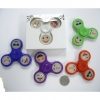 SPINNER ASSORTED COLORS 3 DIFFERENT EMOJI FACES, GLOWS IN DARK