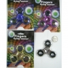 METAL 3 SPOKE SPINNER COMES CARDED, 4 COLORS
