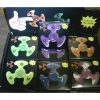 SPINNERS, UFO LOOK, GLOW IN DARK, 2 DZ IN DISPLAY