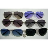 AVIATOR SUNGLASSES SPRING TEMPLE ASSORTED LENSES
