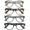 CLEAR LENS GLASSES, NERD LOOK, 4 DIFFERENT FRAMES SHADES