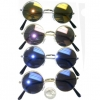 JOHN LENNON STYLE SUNGLASSES WITH REVO MIRROR LENS