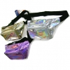 HOLOGRAM/IRIDESCENT COLORS FANNY PACKS--OUT OF SILVER NOW
