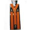 ORANGE COLOR SUSPENDERS 1 INCH WIDE
