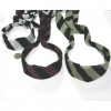 FABRIC STRIPE HEADBAND WITH TAILS