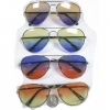 AVIATOR SUNGLASSES, OCEAN LENS, 4 DIFFERENT COLOR COMBOS