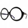 CLEAR LENS LARGE ROUND FUNKY FRAMES GLASSES