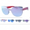 1 PIECE LENS SUNGLASSES IN REVO LENS, COOL SHAPE, ARMS MATCH LEN