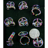 TITANIUM COLOR WIRE STYLE RINGS
