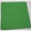 SOLID KELLY GREEN COLOR BANDANA