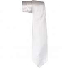 WHITE SLIM NECKTIE