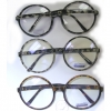CLEAR LENS LARGE ROUND FRAMES IN TORTOISE & GRAY TORTOISE COLORS