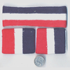 RED, WHITE AND BLUE(NAVY) SWEATBAND SET