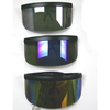 HUGE SHIELD LENS 1 PIECE SUNGLASSES, ASSORTED MIRROR COLORS LENS
