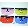 HUGE 1 PIECE LENS SHIELD IN ASSORTED COLORS