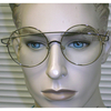 CLEAR LENS LARGE ROUND SHAPE METAL GLASSES