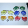 AVIATOR COLOR LENS GETTNG LIGHTER  SUNGLASSES