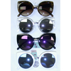 CAT INSPIRED LARGE FRAMES WITH REVO LENS SUNGLASSES