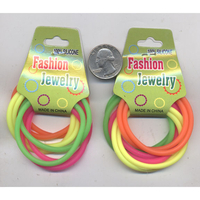 NEON SILICONE PONYTAIL