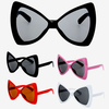 LARGE BOW TIE SHAPE SUNGLASSES IN 4 DIFFERENT COLORS