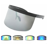 HUGE SHIELD REVO LENS SUNGLASSES