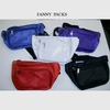 4 ASSORTED COLOR FANNY PACKS, BLUE, YELLOW, WHT, ORANGE