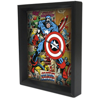 CAPTAIN AMERICA SHADOW BOX