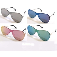 1 PIECE REVO LENS WITH METAL BAND BEHIND LENS COOL SUNGLASSES