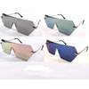 REVO & MIRROR LENS 1 PIECE LENS ANGULAR SHAPE SUNGLASSES