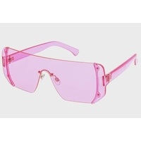 ASSORTED COLOR SHIELD STYLE POPULAR FASHION SUNGLASSES